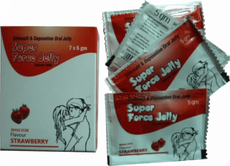 Super Force Jelly Strawberry 160 mg
