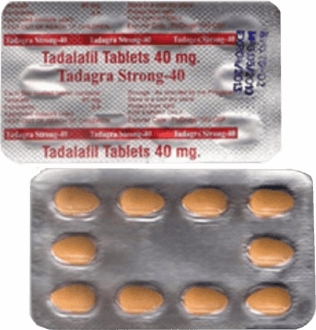 Tadagra Strong 40 mg Tadalafil tabletas