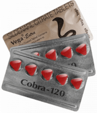 Cobra 120 mg Tabletten von Sildenafil