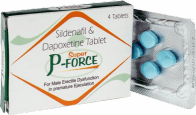 Píldoras Super P Force 160 mg (100 Sildenafil + 60 Dapoxetine)