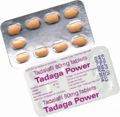 Tadaga POWER 80 mg Tadalafil tabletas