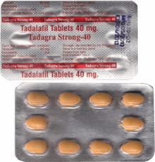 Tadagra Strong 40 mg compresse di Tadalafil