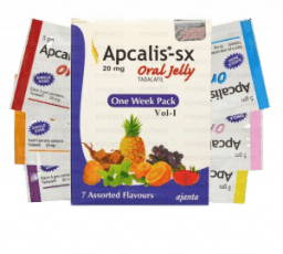 Apcalis SX Oral Jelly 20 mg Tadalafil France