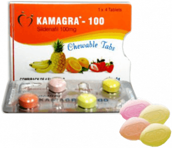 Kamagra Soft pillerit 100 mg Sildenafil