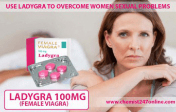 Ladygra piller 100 mg Sildenafil Tablets